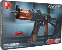 Конструктор Zhe Gao Technic Автомат АКС-74У / QL0451 -