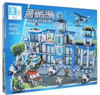 Конструктор Zhe Gao City Полицейский участок / QL0200 -