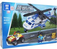 Конструктор Zhe Gao City Погоня на вертолете / QL0213 -