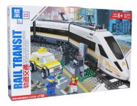 Конструктор электромеханический Zhe Gao City Электромеханический Скоростной поезд / QL0307 -