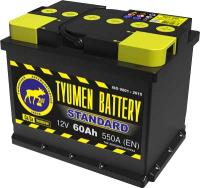 Автомобильный аккумулятор Tyumen Battery Standard L+ / 6СТ-60 ST (60 А/ч) -