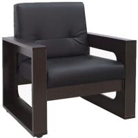 Кресло мягкое Ивару Стикер №5 нераскладной (люкса блек) -