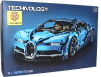 Конструктор Lion King Technic Bugatti Chiron Бугатти Шерон синий / 180103 -