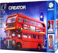 Конструктор King Creator Classic Лондонский автобус / 85023 -
