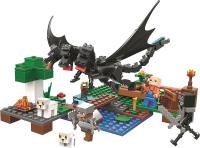 Конструктор Lari Mycrafts Атака Черного Дракона на овечью ферму / 11265 -