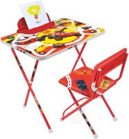 Комплект мебели с детским столом Ника Д2Т Disney. Тачки (красный) -