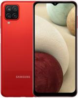 Смартфон Samsung Galaxy A12 64GB / SM-A125FZRVSER (красный) -