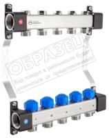 Коллекторная группа отопления KAN-therm InoxFlow серия UVS 7 отводов / 1316160038 -