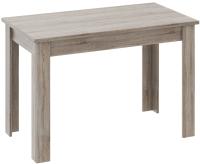 Обеденный стол ТриЯ Норд КМ 418.002.000 (дуб сонома/трюфель) -