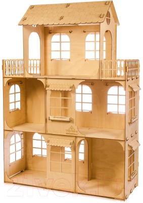 Кукольный домик Теремок Большой кукольный дом / КД-2