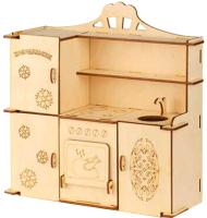 Комплект аксессуаров для кукольного домика Теремок Кухня для кукол / КМБ-8 -