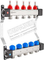 Коллекторная группа отопления KAN-therm InoxFlow серия UFS 6 отводов / 1316157070 -
