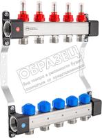 Коллекторная группа отопления KAN-therm InoxFlow серия UFS 10 отводов / 1316157074 -