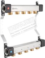Коллекторная группа KAN-therm InoxFlow серия RNN 2 отвода / 1316158000 -