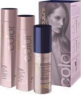Набор косметики для волос Estel Haute Couture Color Шампунь 300мл+Бальзам 250мл+ Спрей 100мл -