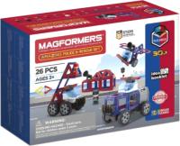 Конструктор магнитный Magformers Amazing Police & Rescue Set / 717001 -