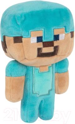 Мягкая игрушка Minecraft Happy Explorer Diamond Steve Plush / TM10115
