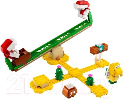 Конструктор Lego Super Mario Мощная атака Растения-пираньи / 71365