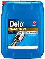 Моторное масло Texaco Delo Gold Ultra T SAE 10W40 / 804166HOE (20л) -