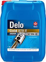 Моторное масло Texaco Delo Gold Ultra E SAE 10W40 / 804163HOE (20л) -