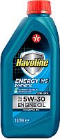 Моторное масло Texaco Havoline Energy MS 5W30 / 801735NKE (1л) -
