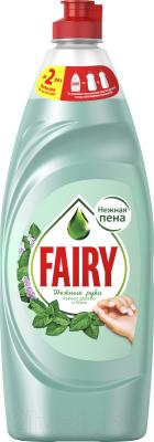 Фото - Средство для мытья посуды Fairy Нежные руки. Чайное дерево и мята спрей кондиционер для волос чайное дерево и мята 150мл