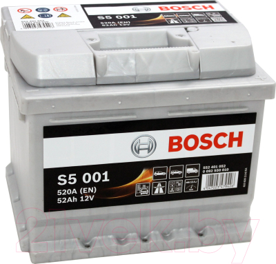Автомобильный аккумулятор Bosch 0092S50010 / 552401052