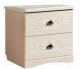 Прикроватная тумба Мебель-КМК Жемчужина 0380.4 (венге светлый/ясень жемчужный) -