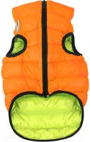 Куртка для животных AiryVest 1634 (М, оранжевый/салатовый) -