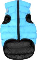 Куртка для животных AiryVest 1635 (М, черный/голубой) -