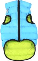 Куртка для животных AiryVest 1711 (S, салатовый/голубой) -