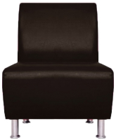 Кресло мягкое Brioli Руди (L13/коричневый) -
