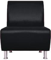 Кресло мягкое Brioli Руди (L22/черный) -