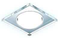 Точечный светильник Ambrella G215 CL/CH/CLD GX53+3W (хром/прозрачный) -
