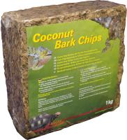 Грунт для террариума Lucky Reptile Coconut Bark Chips / CB-M (1кг, коричневый) -
