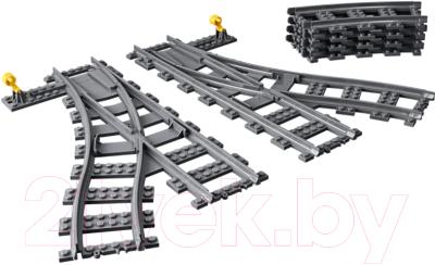 Конструктор Lego City Железнодорожные стрелки / 60238