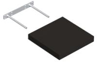 Полка Domax FS 24/24 С / 65062 (черный) -