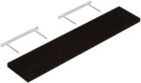 Полка Domax FS 118/24 / 65152 (черный) -