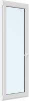 Дверь балконная Rehau Elementis Kale Поворотно-откидная без импоста левая 3 стекла (700x2100x70) -