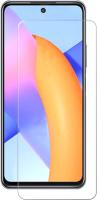 Защитное стекло для телефона Case Tempered Glass для Honor 10X Lite (черный глянец) -