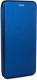 Чехол-книжка Case Magnetic Flip для Redmi 9A (синий) -