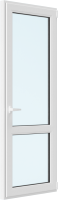 Дверь балконная Rehau Elementis Kale Поворотно-откидная внизу стекло правая 3 стекла (700x2100x70) -
