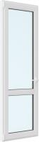 Дверь балконная Rehau Elementis Kale Поворотно-откидная внизу стекло левая 3 стекла (700x2100x70) -