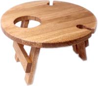 Винный столик-сувенир Лида-Балтия 2 (ореховый) -
