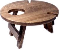 Винный столик-сувенир Лида-Балтия 2 (эбеновое дерево) -