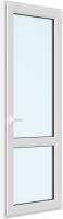 Дверь балконная Rehau Roto Поворотно-откидная внизу стекло правая 3 стекла (600x2000x70) -