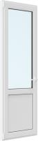 Дверь балконная Rehau Roto Поворотно-откидная внизу с/п левая 3 стекла (600x2000x70) -