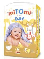 Подгузники-трусики детские MiTomi Day M от 6 до 10кг (52шт) -