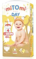 Подгузники-трусики детские MiTomi Day L от 9 до 14кг (42шт) -