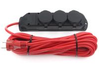 Удлинитель Power Cube PC-3G-3B-10(IP) (10м) -